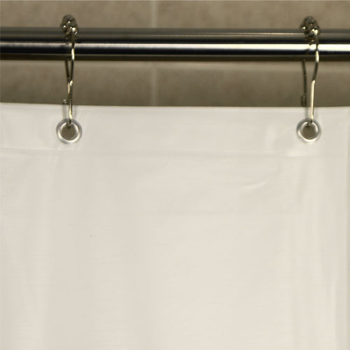 Kartri 5 Gauge Vinsoft Vinyl Shower Curtain W Metal Grommets 72x72 24 Per Case Price Per Each