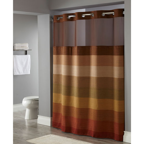 Hookless Fabric Shower Curtain With Snap Liner Home