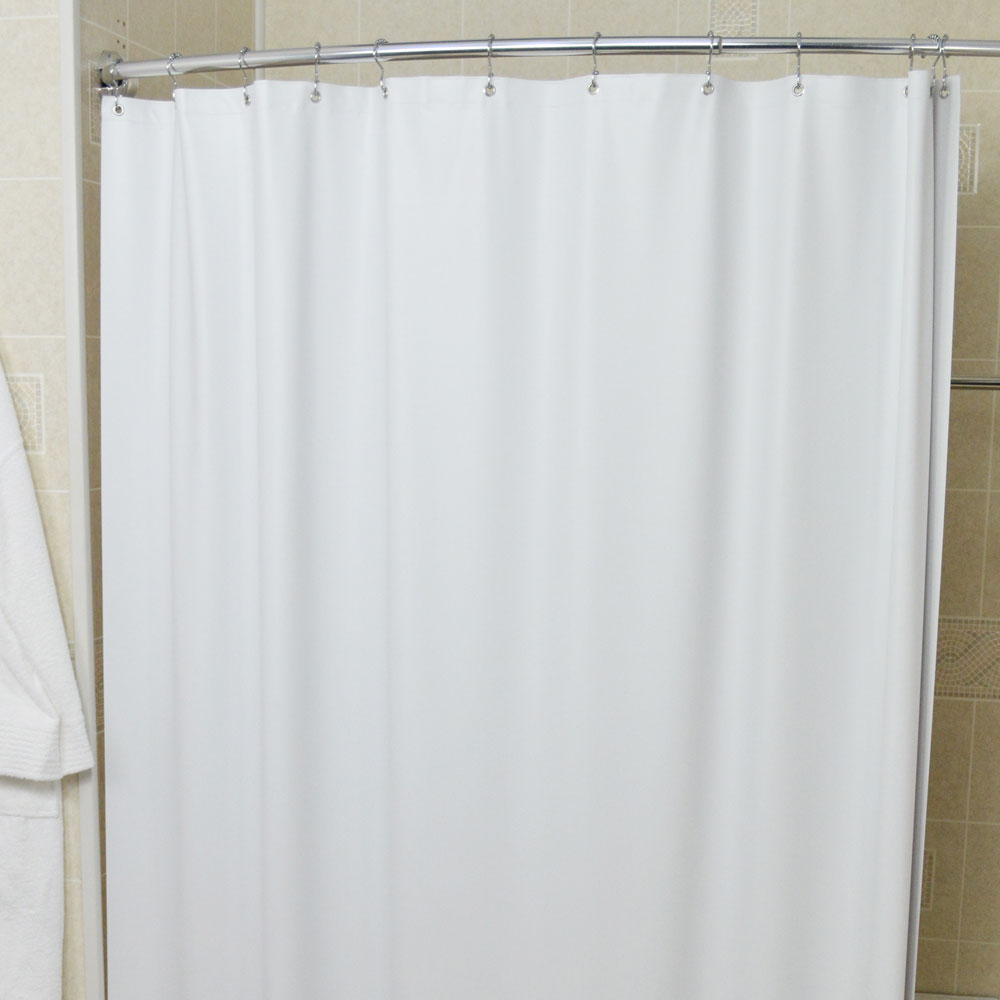 Kartri 5 Gauge Vinsoft Vinyl Shower Curtain W Metal Grommets 36x72 24 Per Case Price Per Each