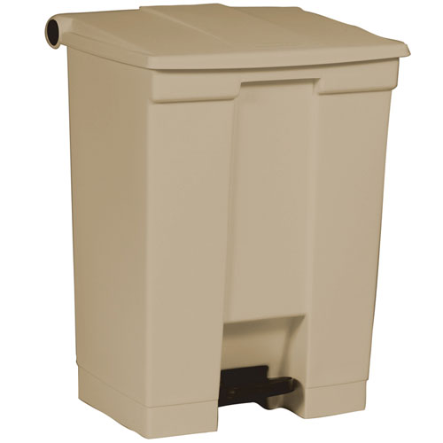 rubbermaid commercial 614500bg 18 gallon step on container. Black Bedroom Furniture Sets. Home Design Ideas